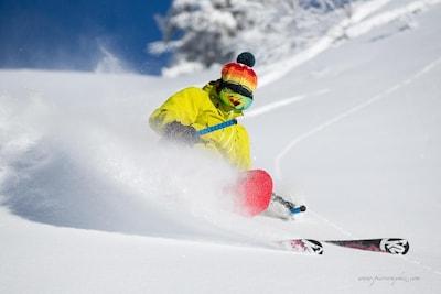 Notre moniteur de ski!  Lantheaume Alexandre.