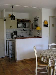 bar et kitchenette
