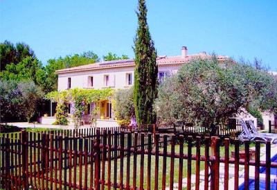 Einzimmerwohnung in villa