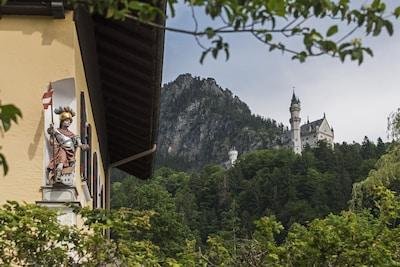 Ferienhaus direkt  am Fusse von Schloss Neuschwanstein