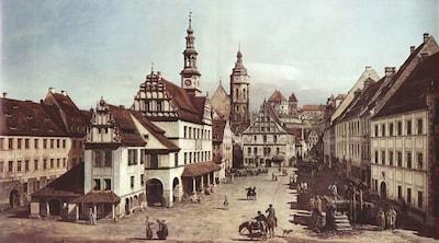Markt Pirna, Canaletto