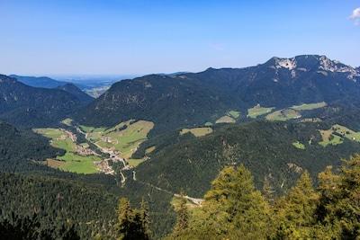 Weißbach an der Alpenstraße vom Ristfeuchthorn aus
