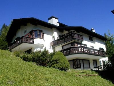 Statzerhorn-skilift, Vaz-Obervaz, Graubünden, Zwitserland