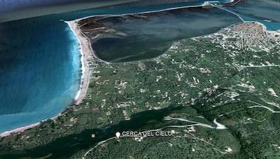 CERCA DEL CIELO aus satelite