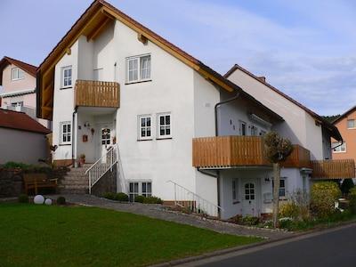 Rosengarten, Bad Kissingen, Beieren, Duitsland