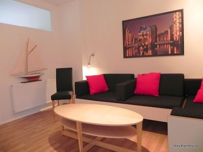 Wohnbereich mit 2 zusätzlichen Couchbetten