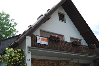 Balkon der Fewo im OG