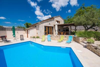 Villa Irena im Zentrum Istriens