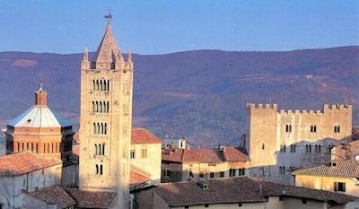 Massa Marittima - lebendige Altstadt und Meeresnähe
