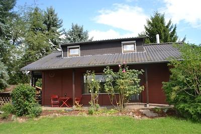 Uriges Ferienhaus am Rande des Vogelsbergs