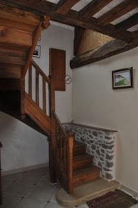 entrée, escalier .