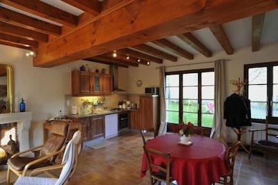 Espace cuisine et repas
