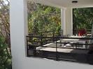 Grande terrasse ouverte et aérée