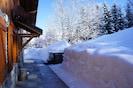 Chalet en pleine nature avec jacuzzi et vue sur le mont Blanc