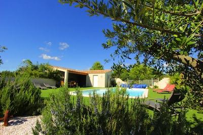 La piscine chaufée