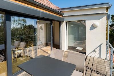 maison rénovée et création du studio et terrasse en 2014