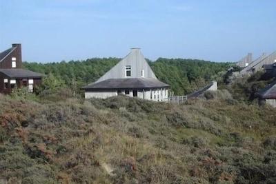 la maison vue des dunes