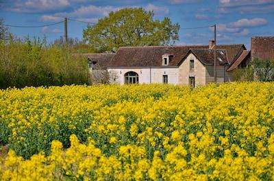 Une ferme paisible à mille lieues des bruits de la ville