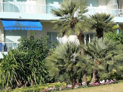 Appartement sur jardin