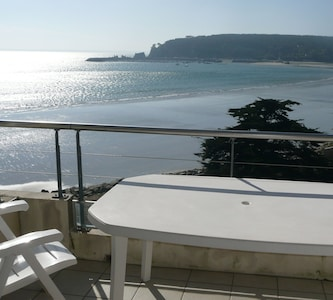 Plage de Morgat, Département du Finistère, France