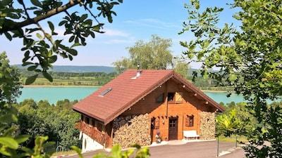 Clairvaux-les-Lacs, Département Jura, Frankreich