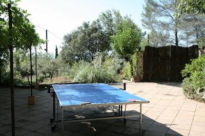 Votre table de pingpong pour 4 joueurs