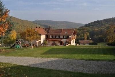 Maison dans le parc de 20000 m²