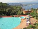 Piscine avec surveillant de baignade en juillet/aout