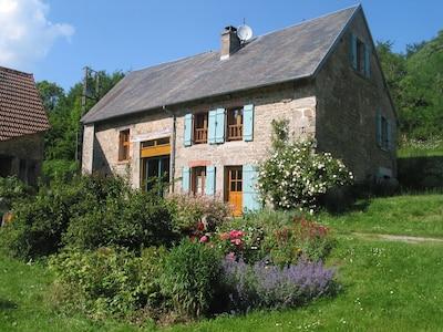 St Georges la Pouge, Département Creuse, Frankreich