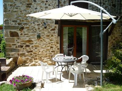 La terrace privé
