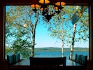 Dining View, surrounded on three sides by windows.