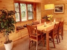 Dinning table with breakfast nook