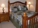 Second Bedroom with Romantic Queen Bed