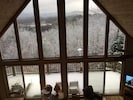 View from upstairs landing-snow time!