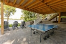 Outdoor ping pong table for active groups!