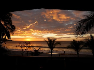 Sunsets at the Beachhouse are just spectacular!