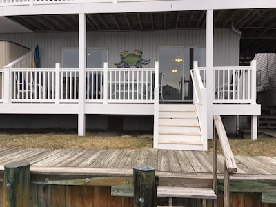 First floor unit with easy access to dock and water.