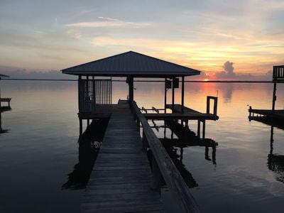 Lake June in Winter Scrub State Park, Lake Placid, Florida, United States of America