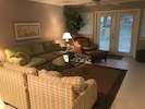 Comfortable living room for entertaining