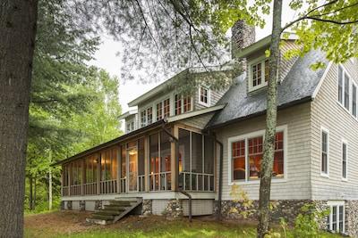 Sala Architect designed Lake Superior cottage