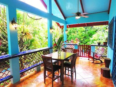 Casa Azul Spacious Bright Deck