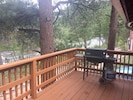 Deck and the view of the river