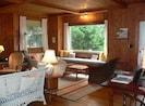 Living room, facing front window