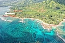 Location of Barefoot Hideaways.  Closest beach Naue.   Tunnels Ke'e nearby