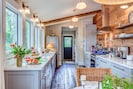 The gourmet kitchen is every cook's dream