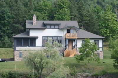 Evergreen, Timber Frame Cottage