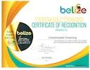 Unbelizeable Dreaming Ltd is GOLD STANDARD CERTIFIED by Belize Tourism Bureau!