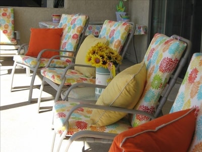 Balcony - sit in the sun or relax in the shade !!!!!!!!!