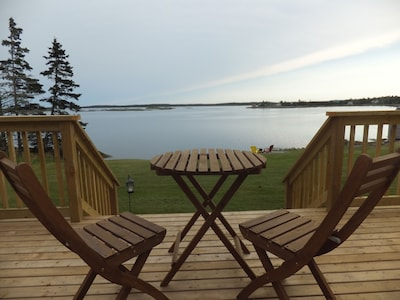View from front deck.