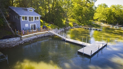 Lakeside living at its best.